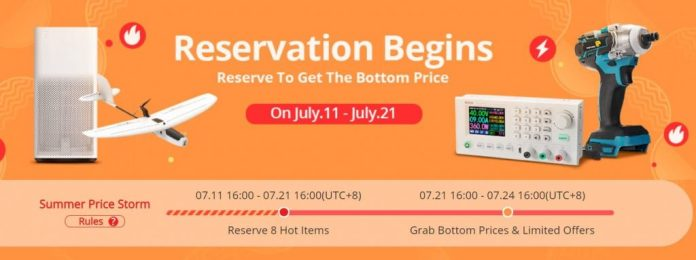 Reservation Begins - Banggood Summer Sale 2020