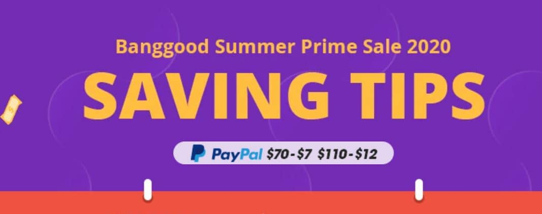 Banggood Summer Sale 2020 - Get Big Gift, Free Win Product, and Huge 75% Discounts