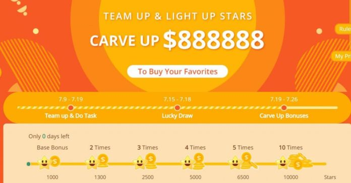Carve Up to $88888 on Banggood Summer Sale 2020, Team Up & Light Up star