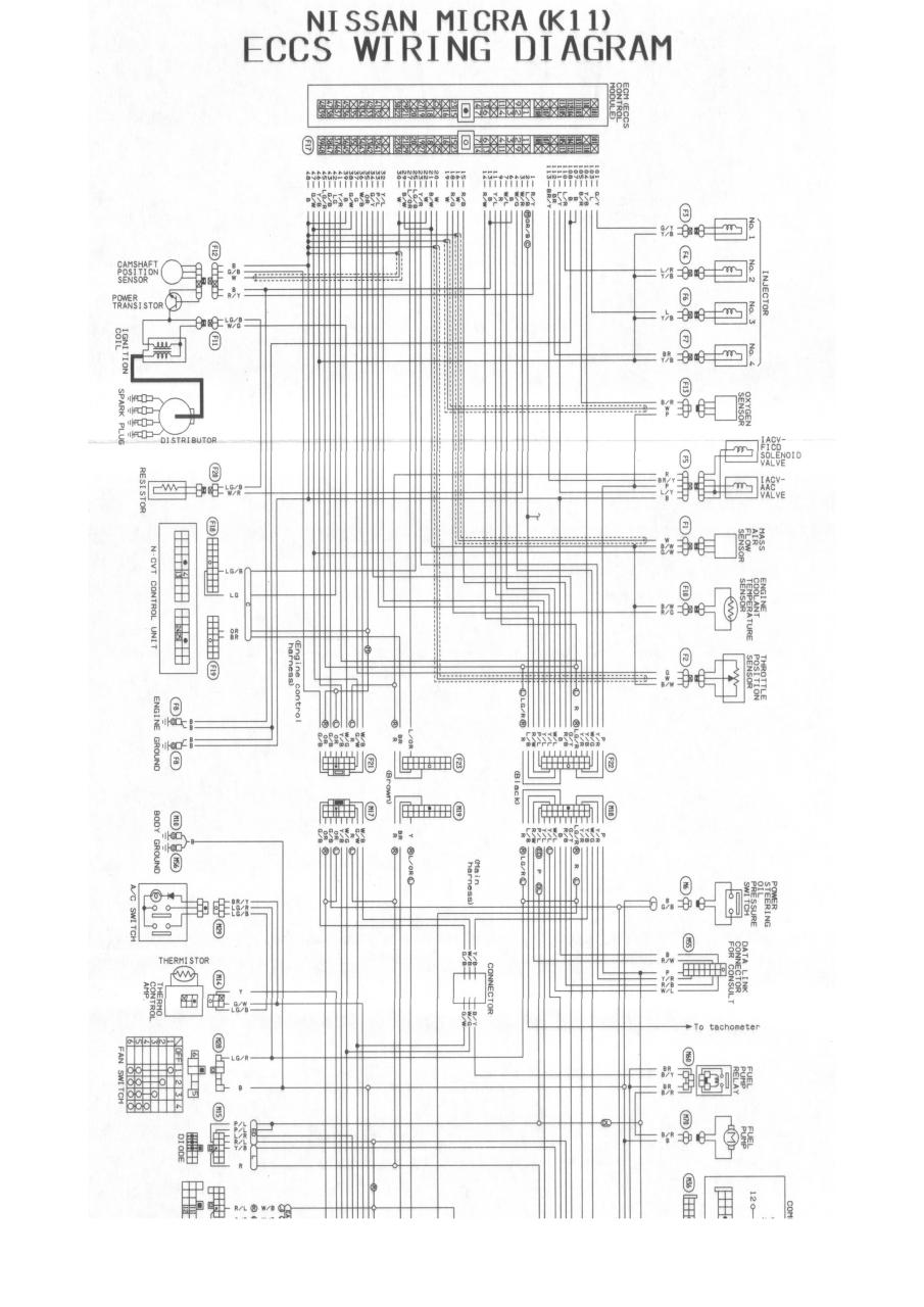 Nissan March K11 Wiring Diagram $ Download-app.co