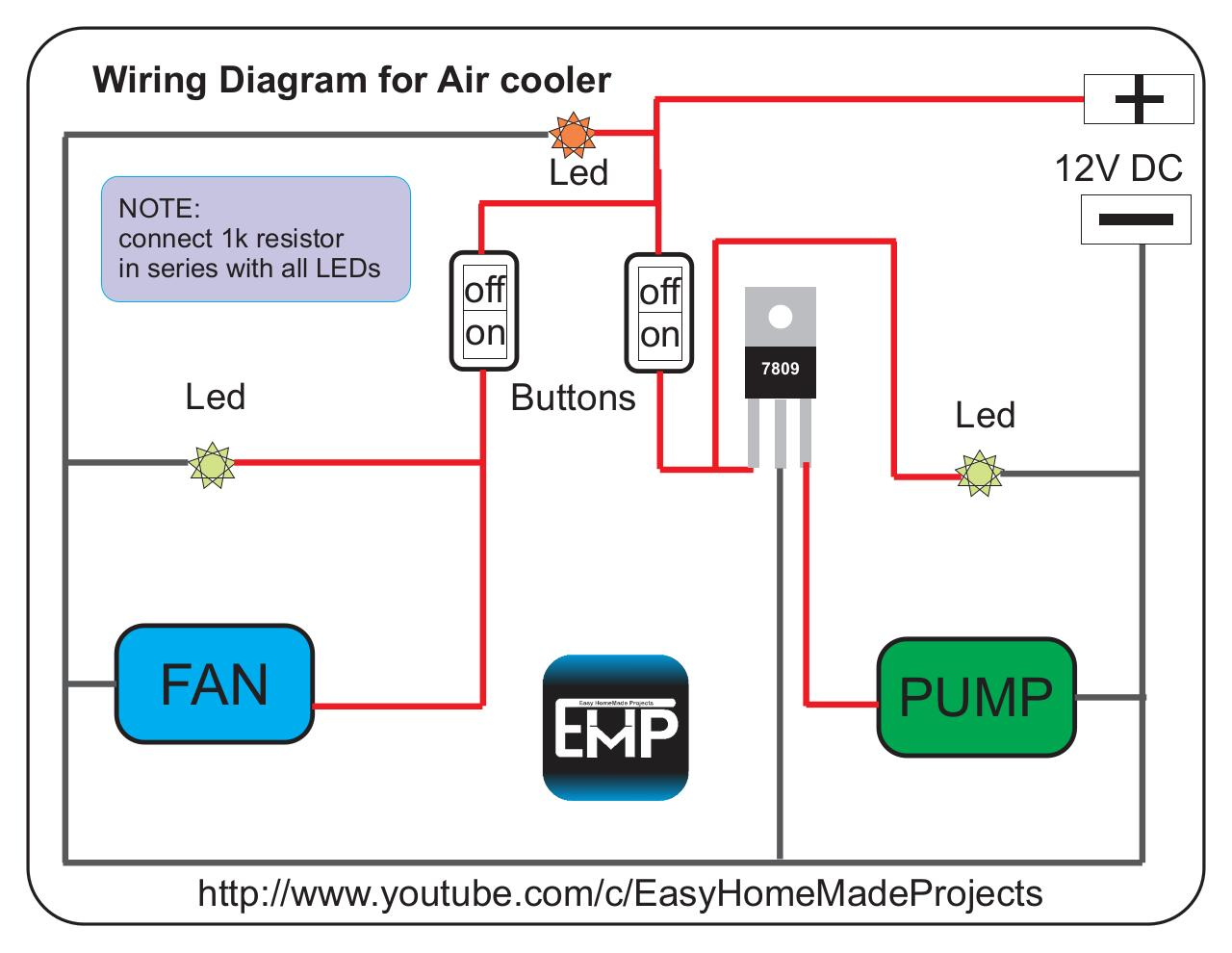 hight resolution of wiring cdr by usman ahmad wiring diagram for mini air cooler pdf rh pdf archive com cooler parts evaporative cooler switch diagram