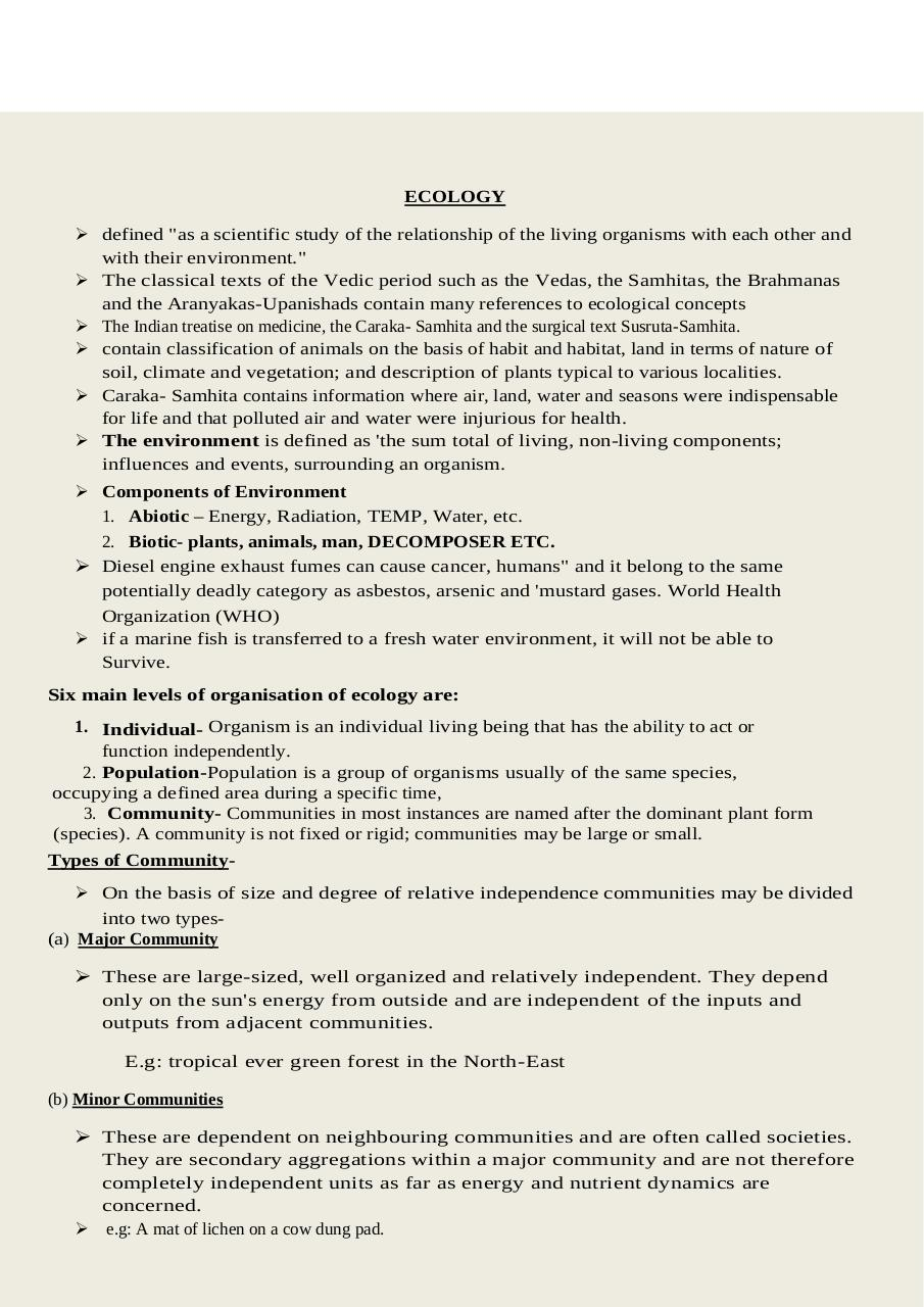 Shankar IAS Environment Compilation PDF Archive