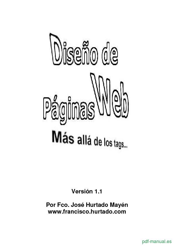[PDF] Diseño de páginas web gratis curso