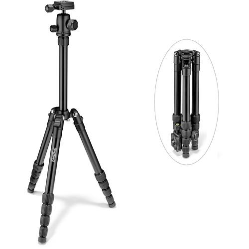 Prima Photo Small Travel Tripod (Black) PHTRSBK