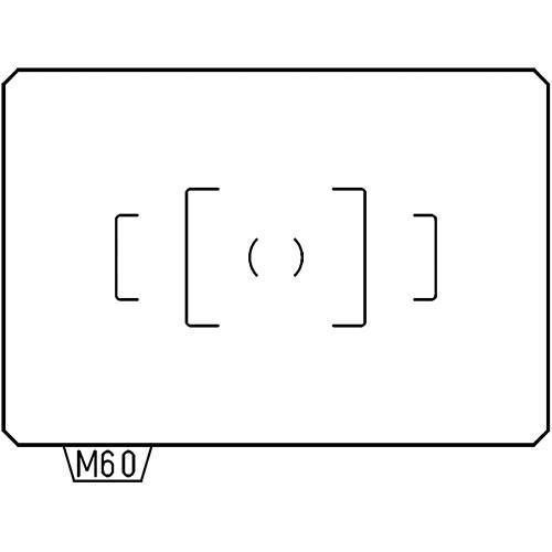 Pentax MF-60 AF Standard Focusing Screen 38578 User manual