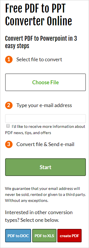 How to convert PDF to PowerPoint online – PDFConverters Official Website