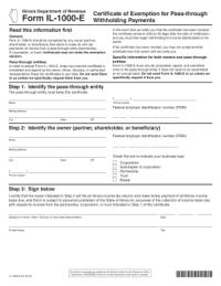 illinois tax forms Templates - Fillable & Printable ...