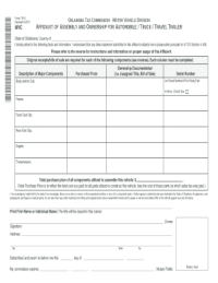 Travel Trailer Bill Of Sale. watercraftill of sale samples ...