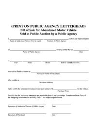Dmv Bill Of Sale Nj - Fill Online, Printable, Fillable ...