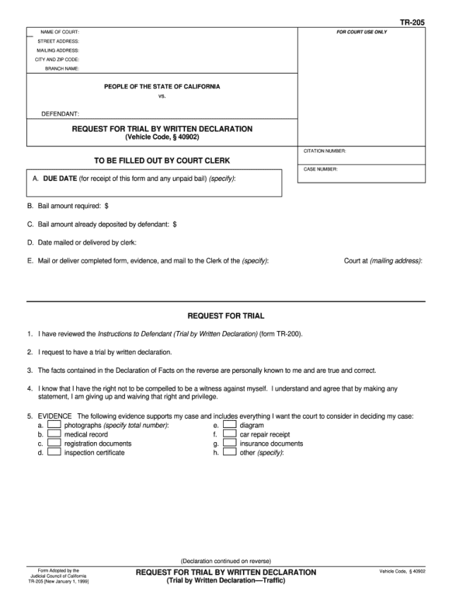 CA TR-7 7-7 - Complete Legal Document Online  US Legal Forms
