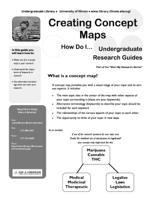 Concept Map Template Forms - Fillable & Printable Samples for PDF ...