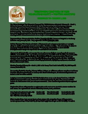 Fillable Online joomla wildlife Winter Meeting Information