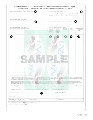 Sample Certification For Importation In The Dominican