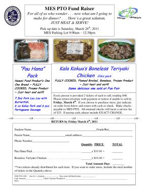 Fillable Online Kala Kokua Order Form. Fax Email Print - pdfFiller