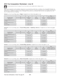 Tax Worksheet. Worksheets. Tutsstar Thousands of Printable ...
