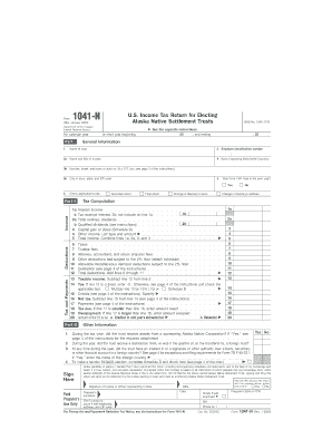 2005 Form IRS 1041-N Fill Online, Printable, Fillable