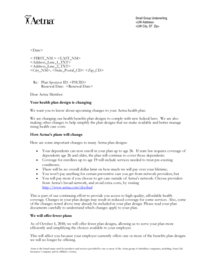 Fillable Online Member Letter with PG. Member Letter with