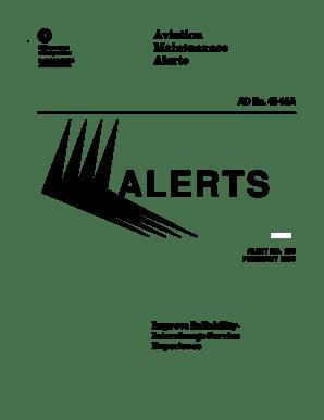Fillable Online faa February 2000 Alerts. FAA AC 43-16A