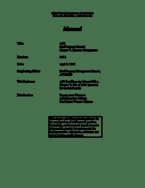 Fillable Online afm ars usda United States Department of
