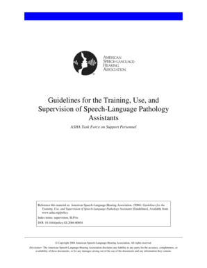 Fillable Online Guidelines for Registration, Training