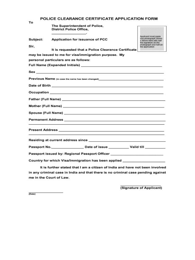 police clearance application form bangladesh pdf