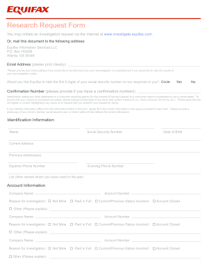 32 Printable Annual Credit Report Request Template Forms