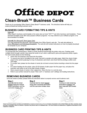 Never be caught without a couple to give out. 43 Printable Business Card Template Forms Fillable Samples In Pdf Word To Download Pdffiller