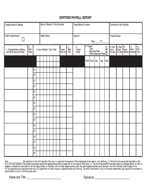 Printable 7 Sample Payroll Reporting Forms Templates to