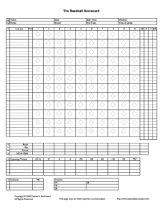 Baseball depth chart pdf form score sheet also printable forms and templates fillable rh pdffiller