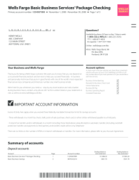 Personal financial statement template wells fargo ...
