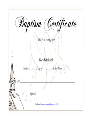Printable Baptism Certificates. medium size of designsfree