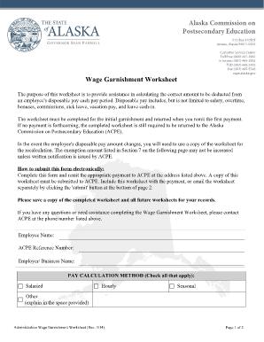 Wage Garnishment Worksheet Worksheets Tutsstar Thousands