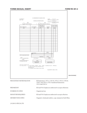 Fillable Online FORM RD 451-2 FORMS MANUAL INSERT Fax