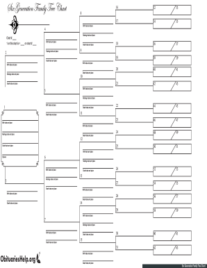 Free Fillable Family Tree Template Fill Online