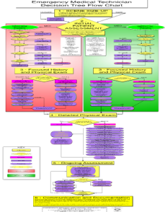 Technician flow chart also fill online printable fillable blank rh emergency decision tree pdffiller