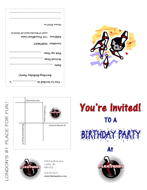 bowling party invites printable fill online printable fillable blank pdffiller
