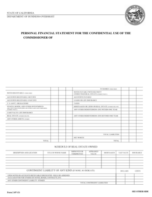 60 Printable Business Financial Statement Form Templates