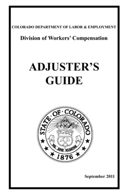 Fillable Online colorado Adjusters Guide BW 2011 final