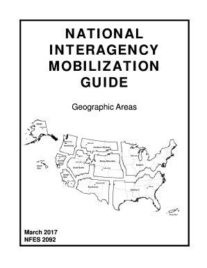 Fillable Online nifc National Interagency Mobilization
