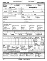 Patient Care Report Template - Fill Online, Printable ...