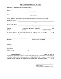 Ct Release Of Lien - Fill Online, Printable, Fillable ...