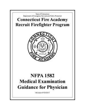 Printable osha firefighter physical exam requirements and