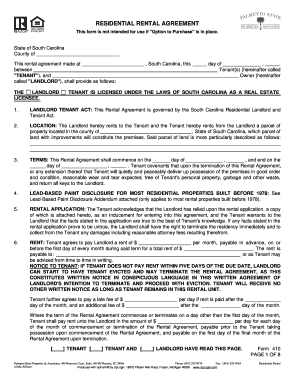 Bill Of Sale Form Vermont Residential Lease Agreement Form Templates ...