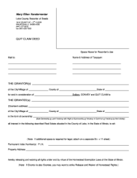 Sample Quit Illinois - Fill Online, Printable, Fillable ...