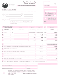Phoenix Sales Tax Form - Fill Online, Printable, Fillable ...