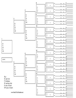 Family Tree Templates. Free Family Tree Templates Fill