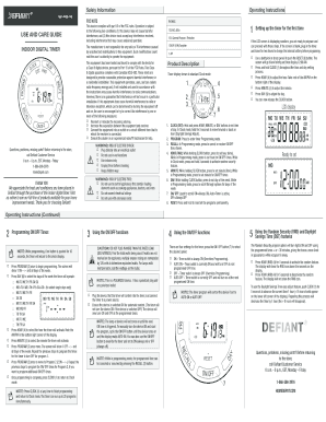 Fillable Online JascoProd Defiant 49809 458-148.indd Fax