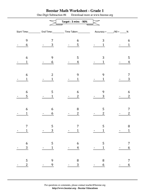 small resolution of Beestar Math Worksheet - Fill Online
