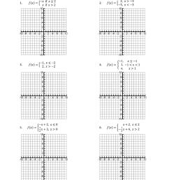 Piecewise Functions Worksheet [ 1024 x 770 Pixel ]