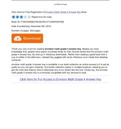 Envision Math Grade 4 Answer Key Pdf - Fill Online [ 1024 x 770 Pixel ]